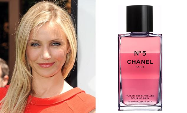 Celebrity perfume choices